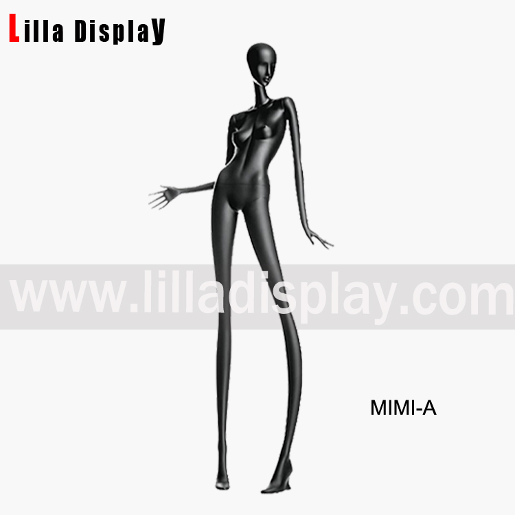 female abstract stylized mannequins