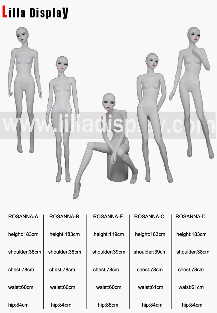 realistic female mannequin