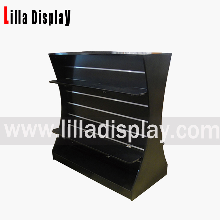 slatwall board gondola display stand