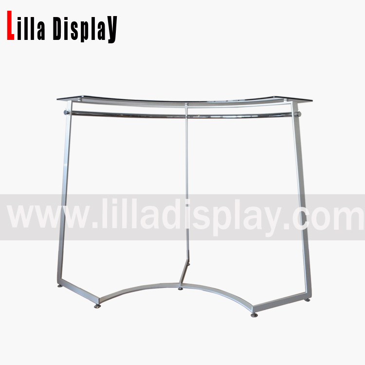 Lilladisplay- 2017 new design arc style clothes display rack for  fashion store use fixture DP4404