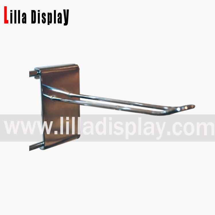 Lilladisplay gridwall euro hook 150mm chrome 22440
