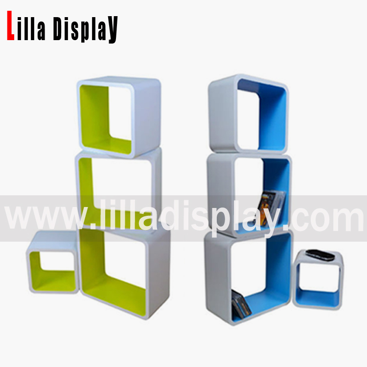 display cube shelf