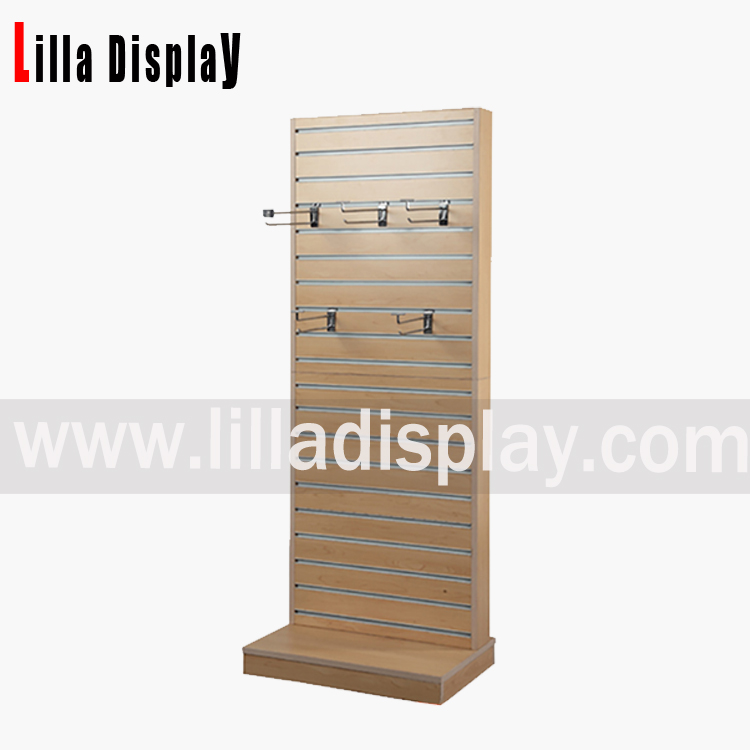 Lilladisplay-MDF slat wall display shelf Item code: B1027