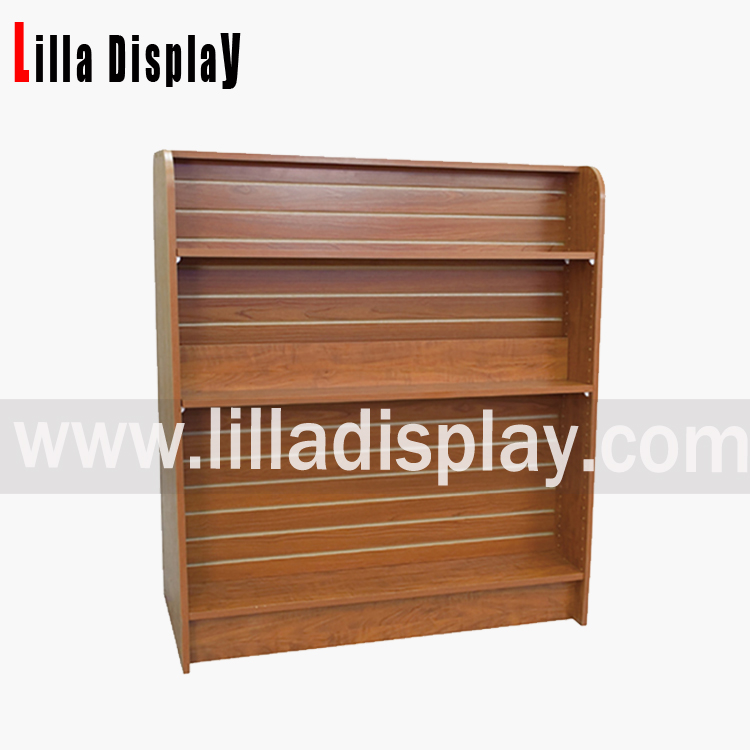 Lilladisplay-MDF slatwall display shelf Item code: B1042