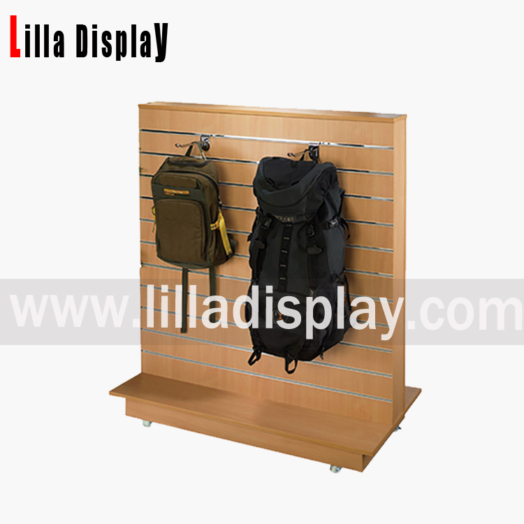 Lilladisplay-MDF slatwall t gondola slatwall display unit Item code:B1002