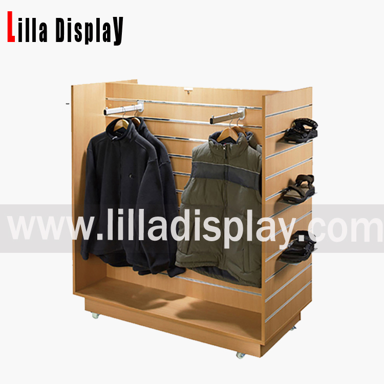 slat wall fixture tower rack