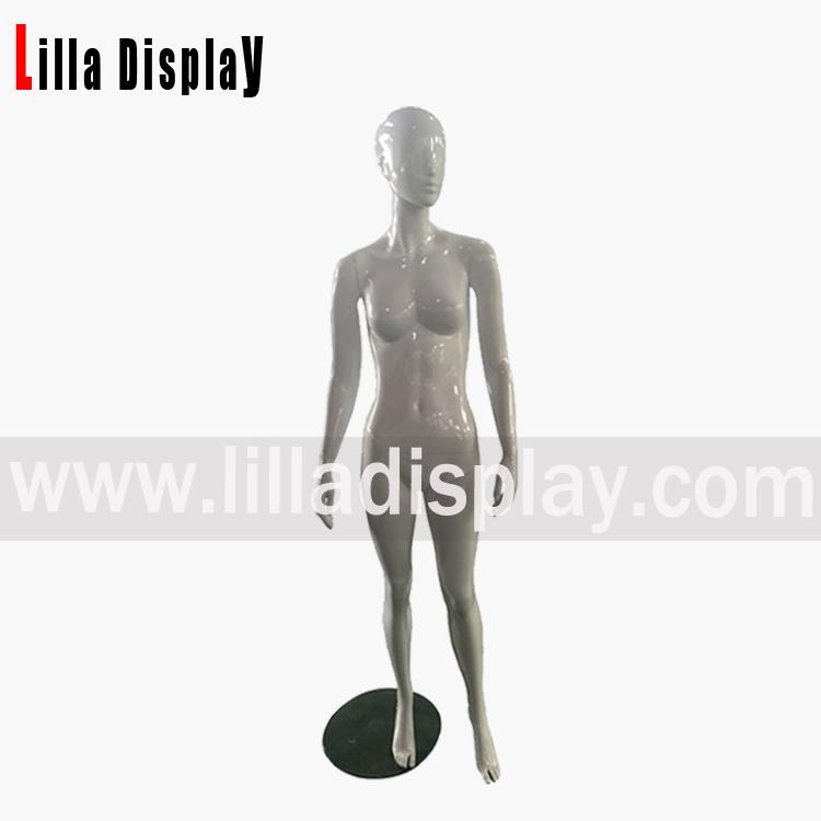 hvit farge abstrakt kvinnelige mannequin