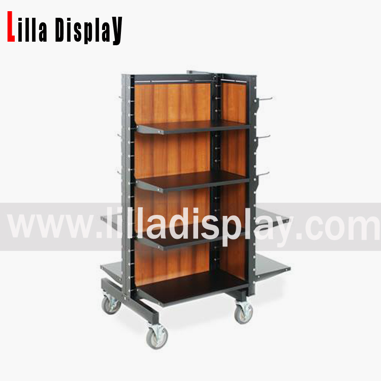 portable display rack, clothes display stand