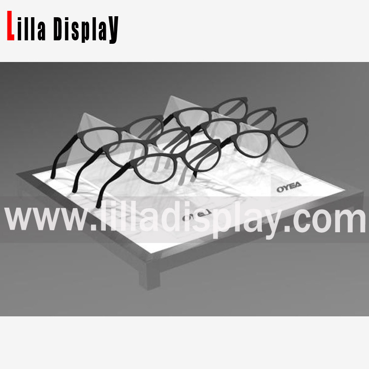 eyeglasses display trays