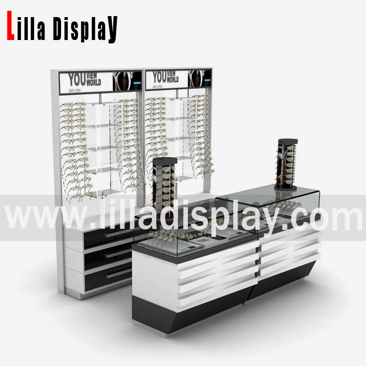 eyeglasses display shelf