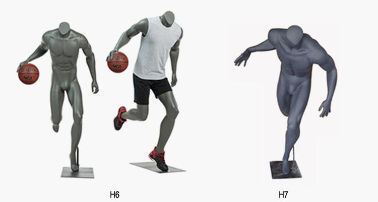 sport mannequins