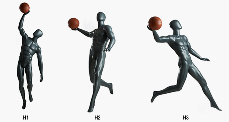 sport male mannequin