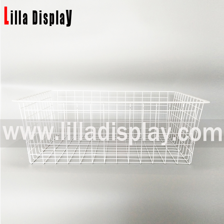 Steel Wire Basket Display