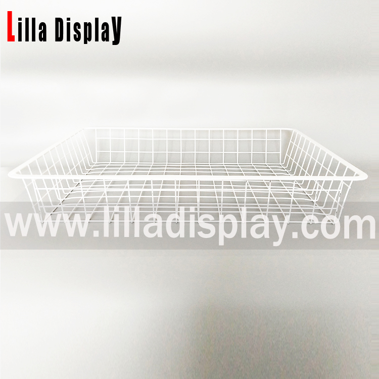 Lilladisplay-storage slatwall wire baskets 22502