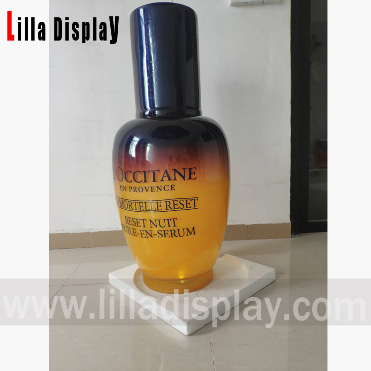 Custom L'occitane events use acrylic L'occitane cosmetic bottle