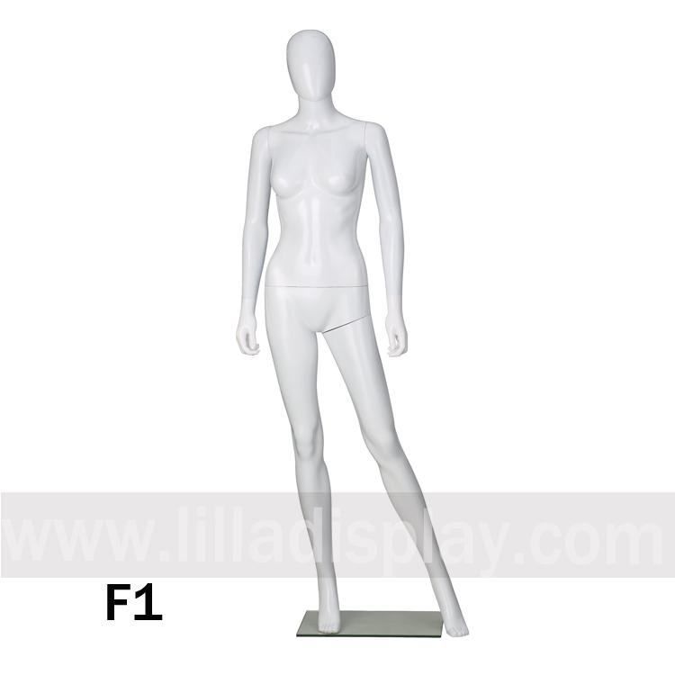 Lilladisplay economy female egghead mannequin F1