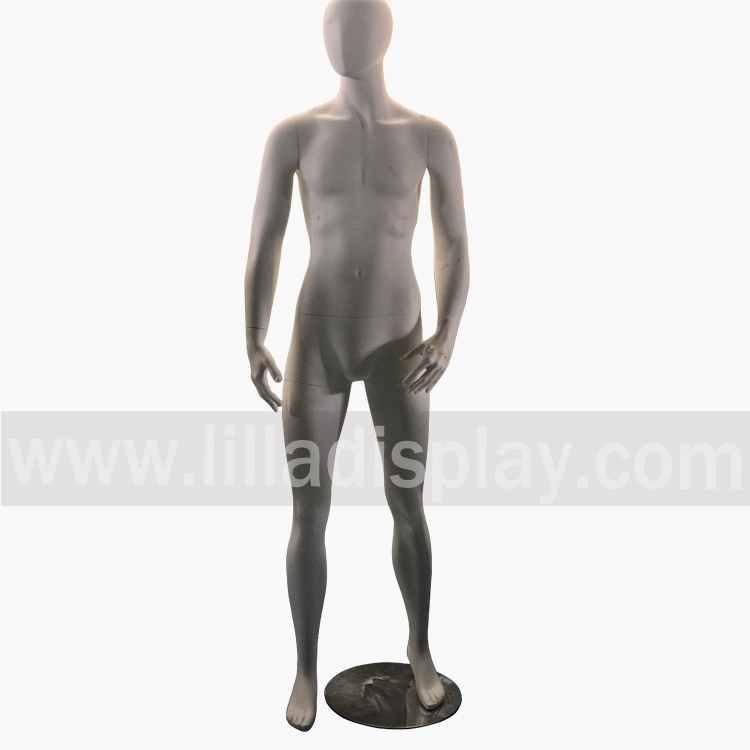 Lilladisplay fiberglass male abstract mannequin LLM-3