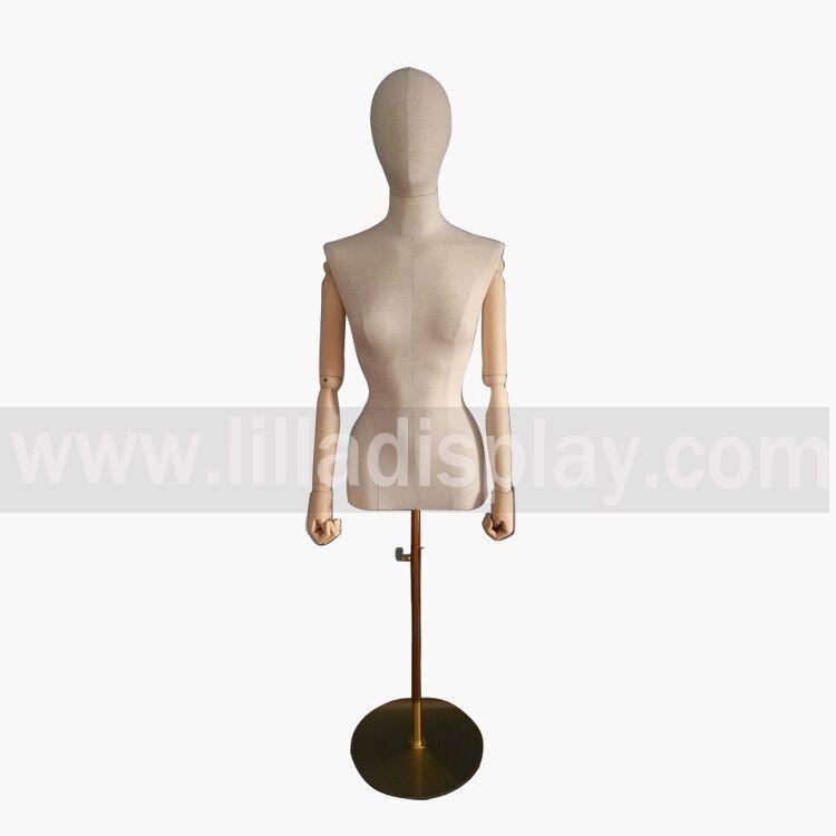 forme DF01 robe de torse féminin Lilladisplay bâchés-pinnable aiguille