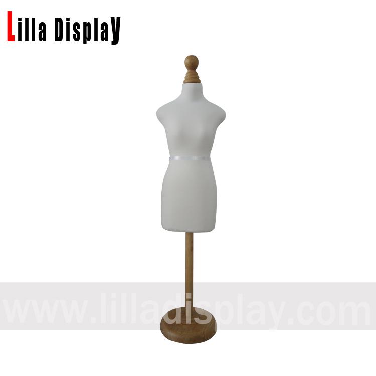 lilladisplay yarım boy 1/2 mini boy kadın sabitlenebilir yüksekliği ayarlanabilir dikiş elbise formu EMNC05