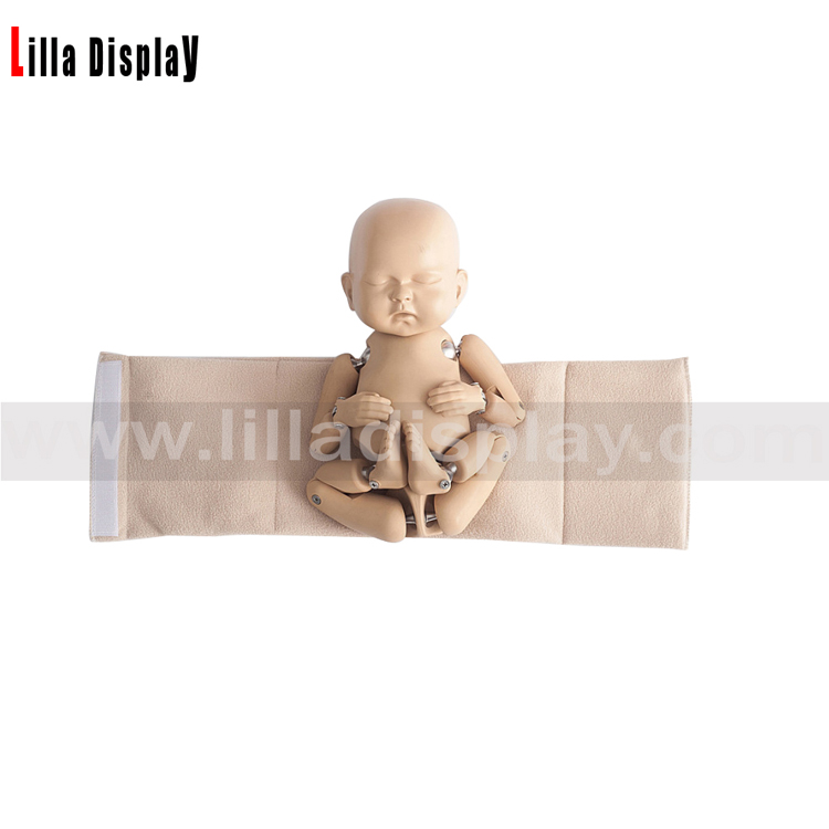Lilladisplay flexible joint new born baby mannequin for photograhy shooting, taking pictures NB-1