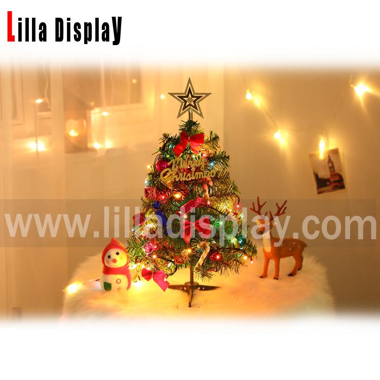 50cm height table display LED Christmas tree MX-03