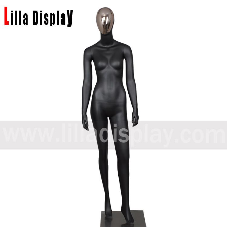 lilladisplay gold face manichino donna in piedi per tutto il corpo HT-1