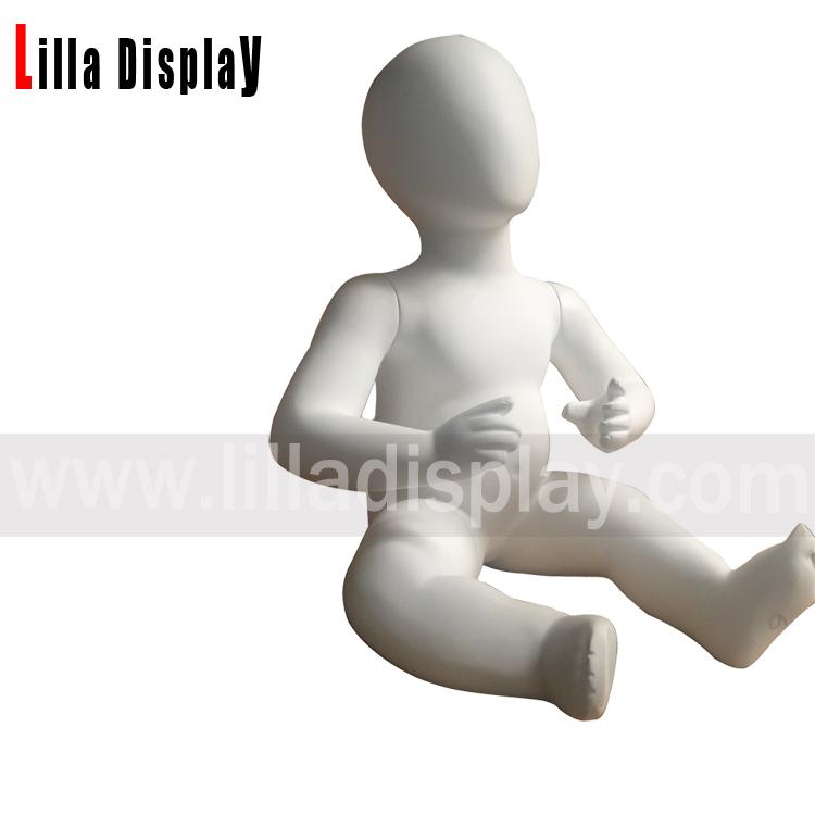 lilladisplay 6 Monate Eierkopf Kleinkind Baby Mannequin Baby01