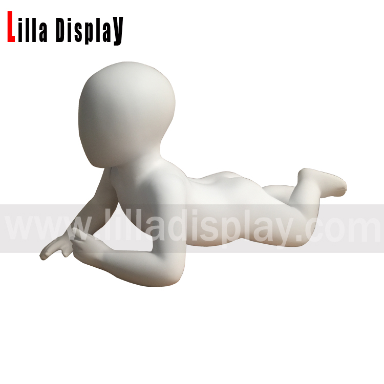 lilladisplay white color crawling 6 months toddler baby mannequin baby03