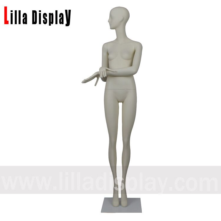 197cm straight legs abstract face female stylized mannequins Gianna01