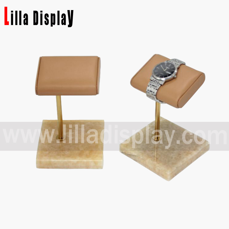 lilladisplay beige color singpe watch display WD01