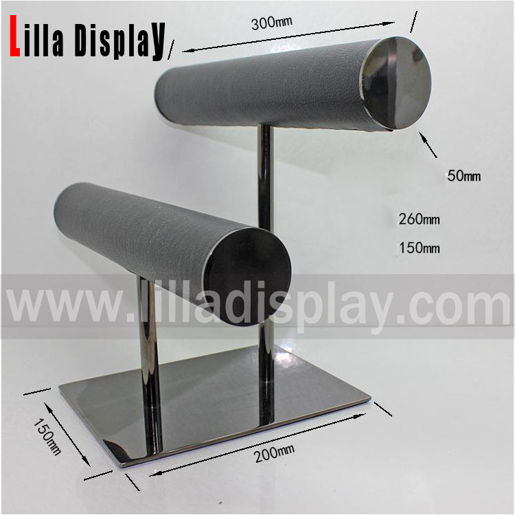 lilladisplay multiple watches display with chrome stand WD03