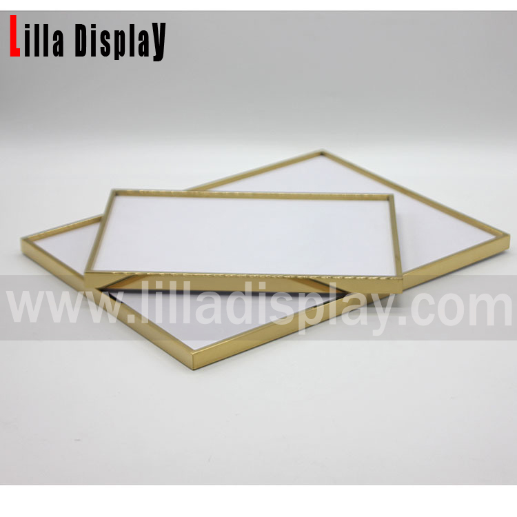 two sizes gold color sunglasses and jewlery display flat display plate S01