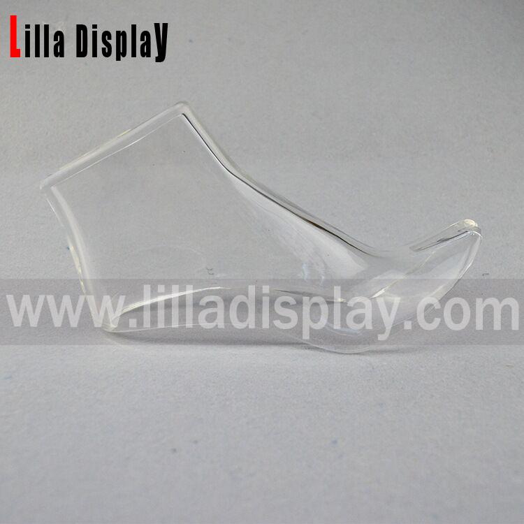 Economy acrylic high heel shoe display mannequin foot form AHF02