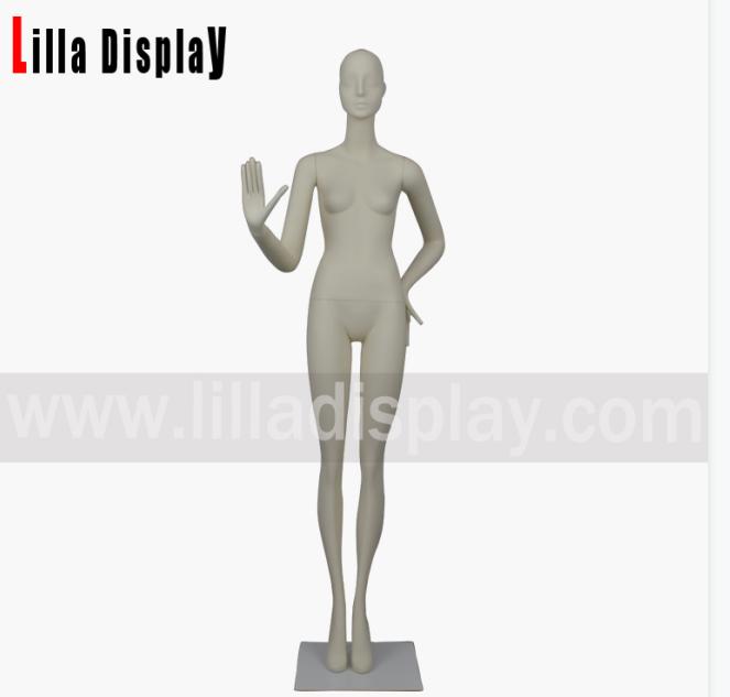 lilladisplay luxury stylized standing straight legs female mannequin Gianna05