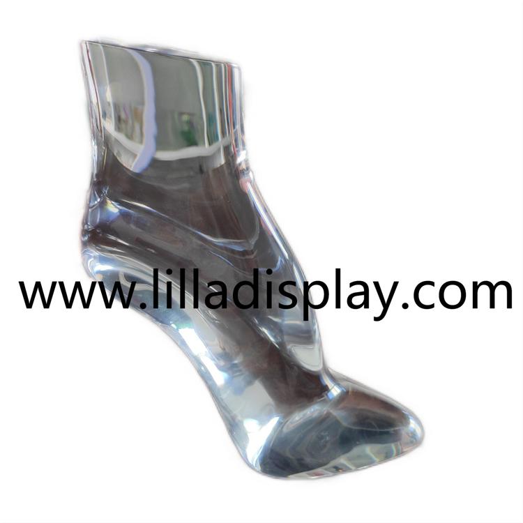 lilladisplay plexi 12cm high heel shoes display stand AF-7