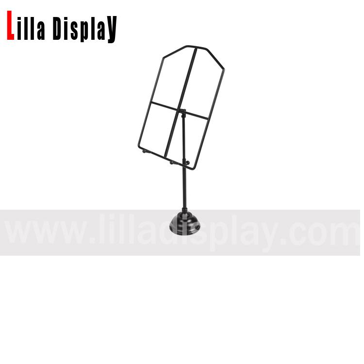 lilladisplay 3 크롬 색상 셔츠 디스플레이 금속 스탠드 SST01
