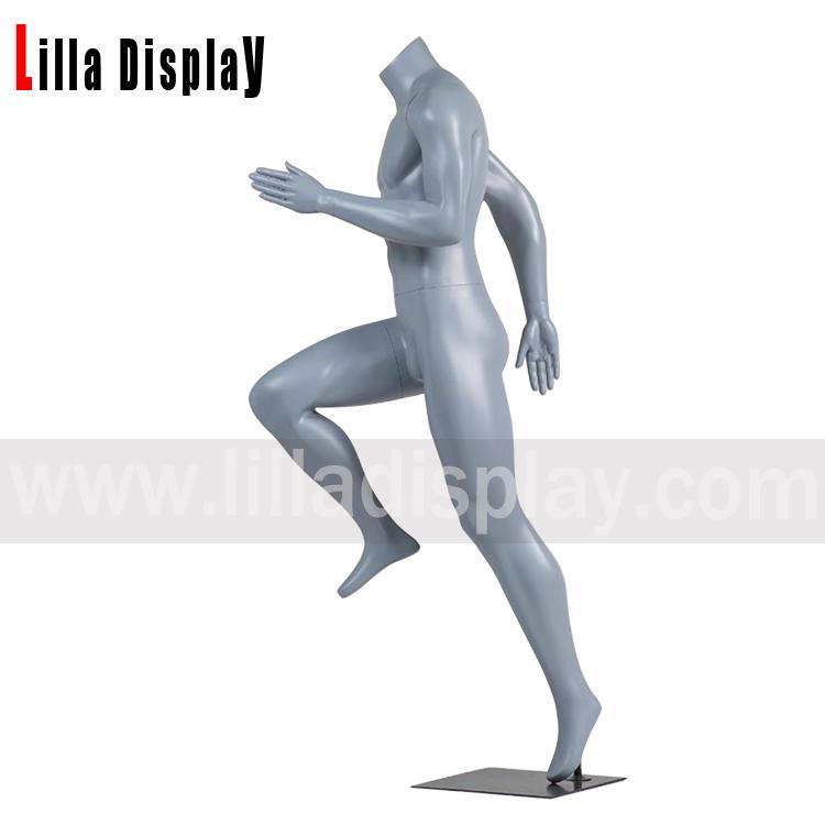 lilladisplay short distand rapid run male running mannequin JR-103
