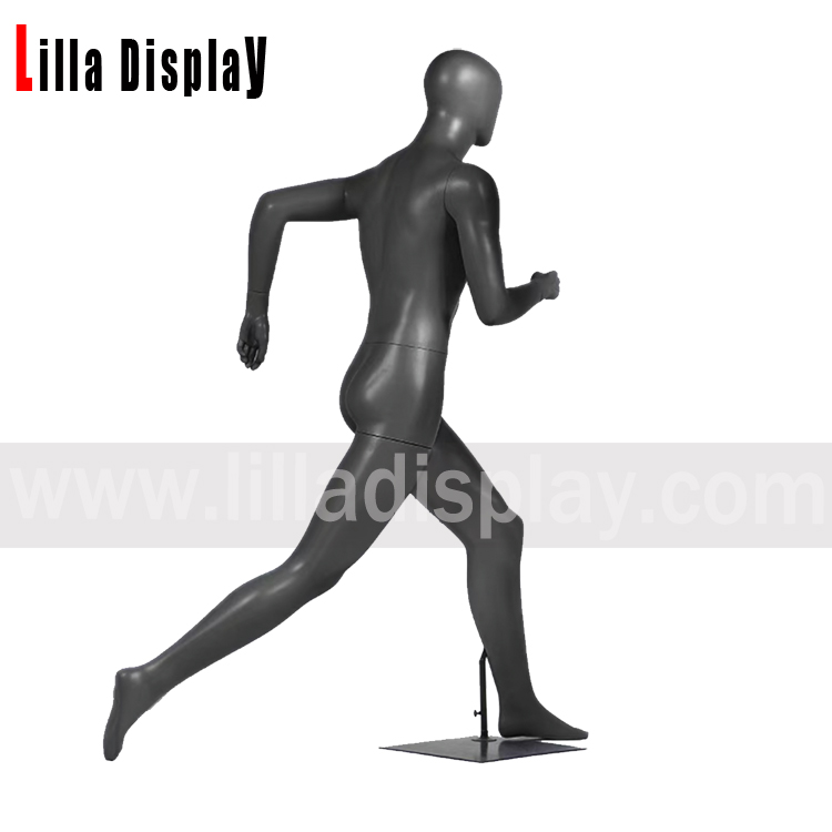 lilladisplay sports striding running with long steps male mannequin JR-80-B